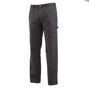 Wolverine mens Gray Fleece lined work pant 36x32